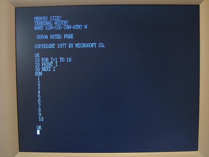 Microsoft BASIC   Big Mess o' ...