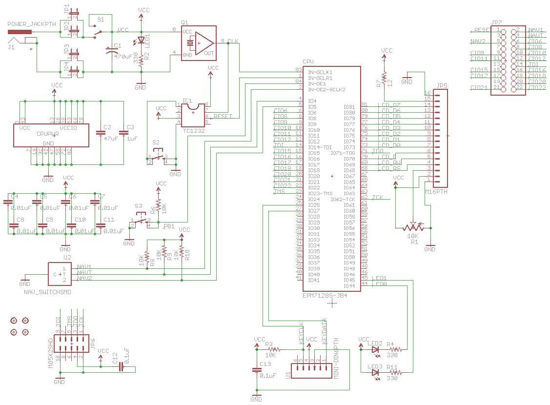 Tiny Cpu Big Mess O Wires Circuit Diagram