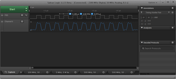 2.66 MHz digital signal