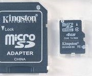 SD Card with Adapter