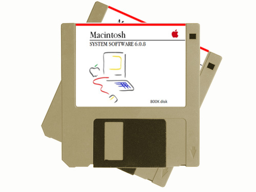 Macintosh system floppy disks big mess o 39 wires store - Uses for old floppy disks ...