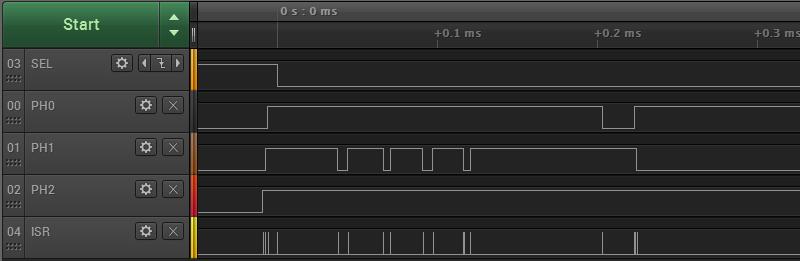 Cortex M4 Interrupt Speed Test   Big Mess o' Wires